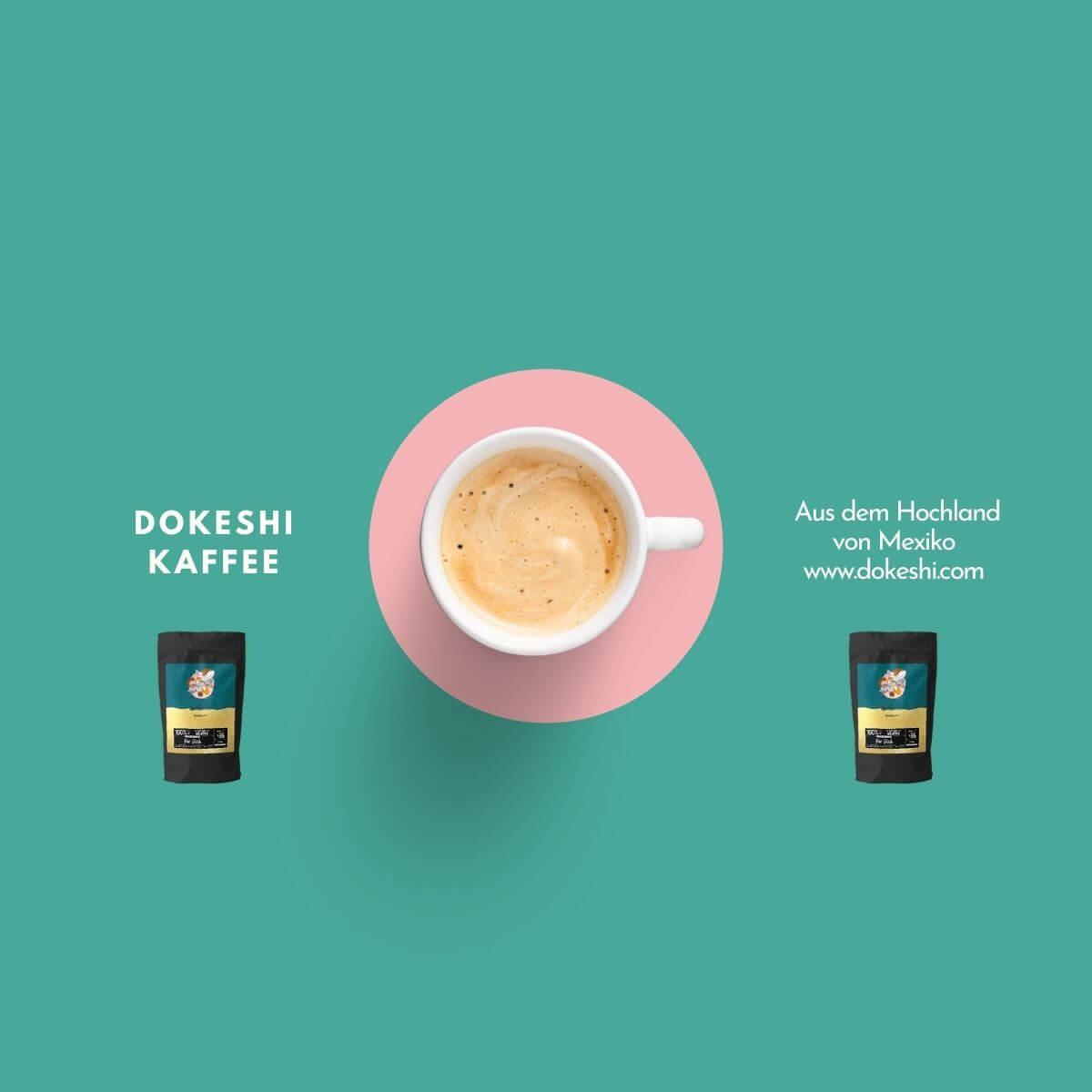 Feiner Arabica-Kaffee, der nach Schoko und Nüssen schmeckt